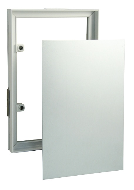 Plastic Tile Frames With Magnets And Steel Mounting Board